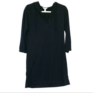 BALANCE COLLECTION Hooded swim cover-up L